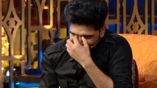 Guru Randhawa was left red-faced on The Kapil Sharma Show.