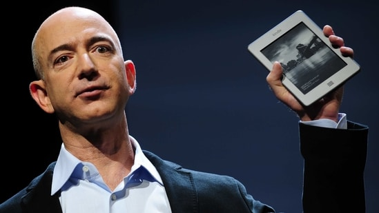 """Right now I see Amazon at its most inventive ever, making it an optimal time for this transition,"" Bezos said.(AFP)"