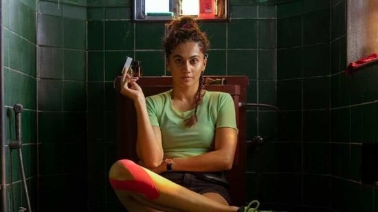 Taapsee Pannu has shared first look picture for Looop Lapeta.
