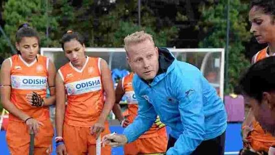 File image of Sjoerd Marijne.(Hockey India)