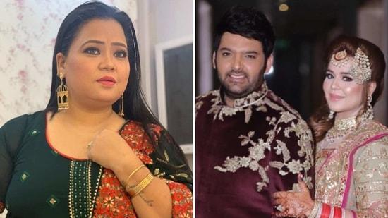 Bharti Singh feels Kapil Sharma and Ginni Chatrath's son will be 'flirtatious' when he grows up.