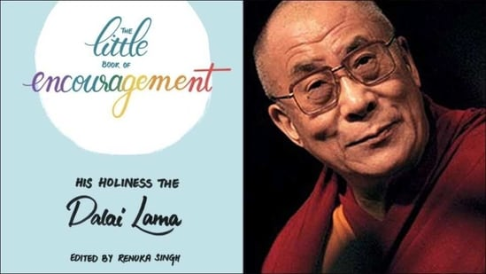 Dalai Lama's 'The Little Book of Encouragement' highlights the key to happiness(Twitter/NetTibet/tim_fargo)
