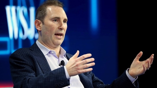 FILE PHOTO: Andy Jassy, CEO Amazon Web Services, speaks at the WSJD Live conference in Laguna Beach, California, U.S., October 25, 2016. REUTERS/Mike Blake/File Photo(REUTERS)