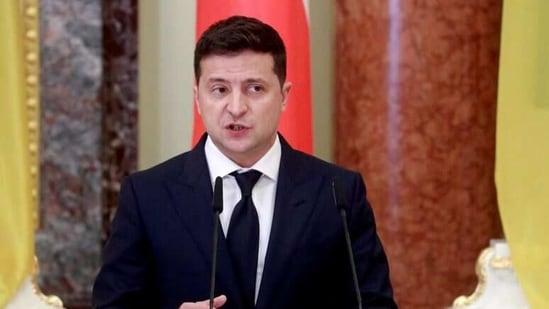 Ukrainian President Volodymyr Zelenskiy (Reuters)
