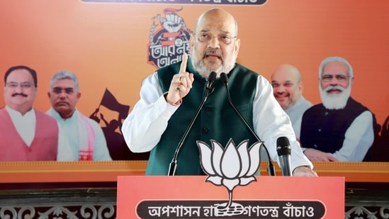 """Union home minister Amit Shah wrote on Twitter: """"No propaganda can deter India's unity.""""(ANI)"""