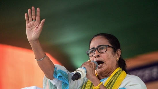West Bengal chief minister Mamata Banerjee(PTI)