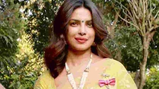 Priyanka Chopra was conferred with the Padma Shri in 2016.