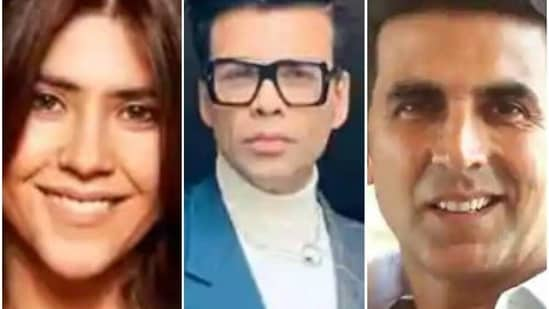 Akshay Kumar, Ekta Kapoor and Karan Johar have tweeted about the farmer protests using similar social media hashtags.
