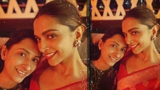 Deepika Padukone with younger sister Anisha Padukone.