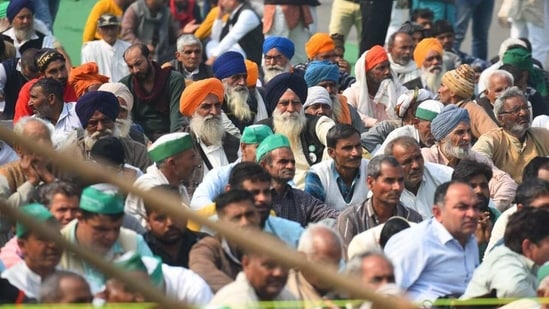 Farmers from Punjab, Haryana and Uttar Pradesh have been protesting against the three farm laws passed by the Centre from November last year. (HT PHOTO).