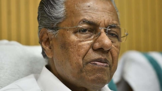 Kerala CM Pinarayi Vijayan has asked the Ernakulam district collector to provide adequate protection to Hanan, who sold fish in a local market at Thammanam in the city after college hours.(HT/File Photo)