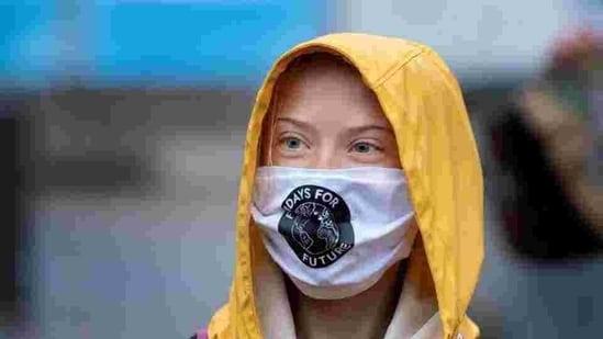 File photo of Swedish climate activist Greta Thunberg.(Reuters)