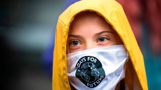 Greta Thunberg reiterated her support to farmers protesting at Delhi borders(AFP)