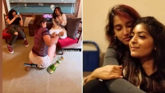 Ira Khan shared pictures and video clips from the wedding preparations of cousin and actor Zayn Marie.
