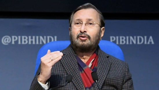 Prakash Javadekar said the toolkit shared by Greta Thunberg points towards a serious issue. (PTI)