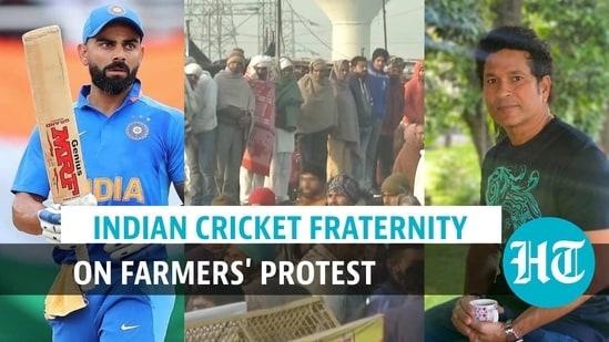 Sachin, Kohli lead way as top Indian cricketers tweet on farm protest