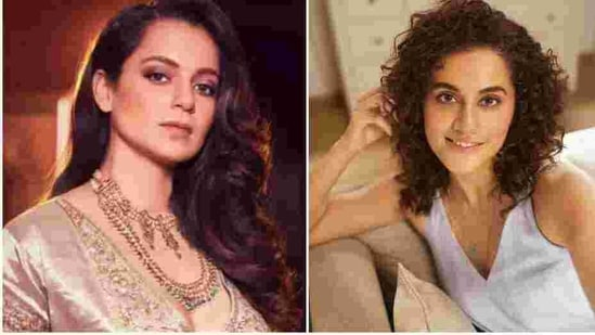 Taapsee Pannu seems to have given a sly response to Kangana Ranaut's attack.