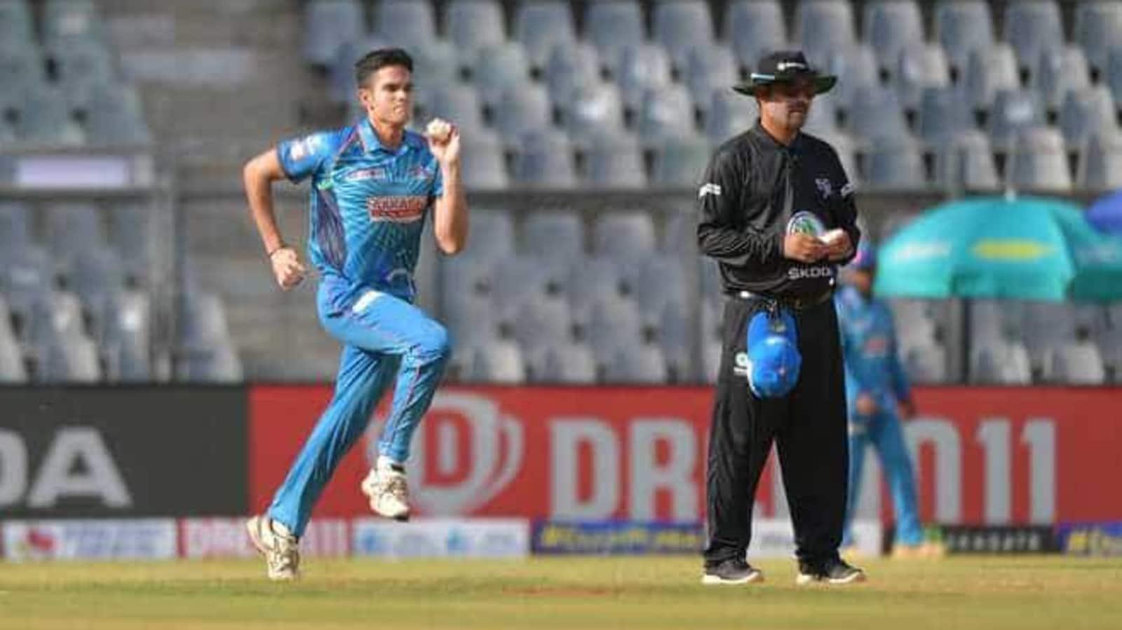 Arjun Tendulkar registers for IPL 2021 auction - Hindustan ...