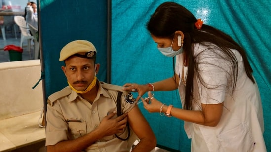 The health ministry's dashboard showed that 4,959,445 people have been vaccinated since January 16. (REUTERS)