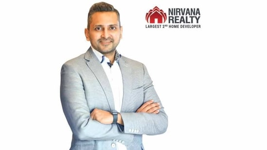 'Developer of the Year – Weekend Homes' Award for Nirvana Realty (in Pic: Mr Punit Agarwal, CEO – Nirvana Realty)(Nirvana Realty)