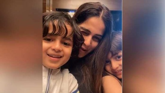 Genelia D'Souza shares adorable video with sons Rahyl and Riaan. It has a Sushant Singh Rajput connection - Hindustan Times