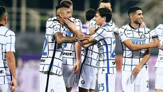 Inter Milan are now one ahead of rivals AC Milan. (Getty Images)