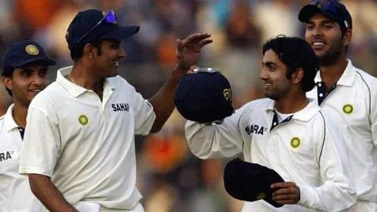 Anil Kumble and Gautam Gambhir(Reuters)