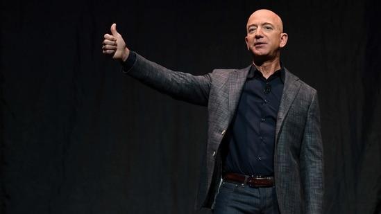 Amazon CEO Jeff Bezos.(REUTERS)