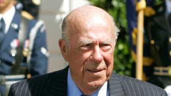 Image result for George Shultz, who led US Cold-War diplomacy, dies
