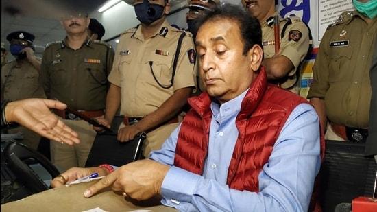 Maharashtra home minister Anil Deshmukh. (HT File)