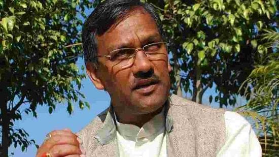 Uttarakhand CM Trivendra Rawat.(HT PHOTO)