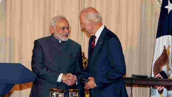 Modi speaks to US Prez Biden, says committed to rules-based international order - Hindustan Times