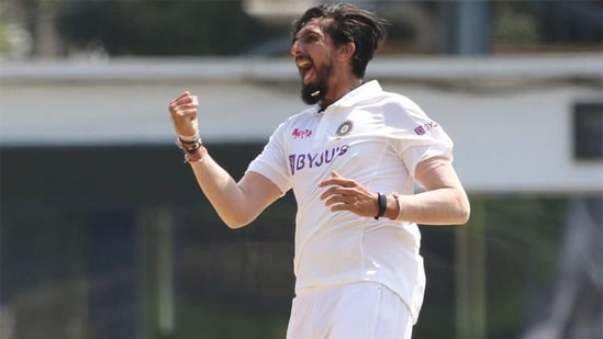 Ishant Sharma is elated after picking up his 300th Test wicket. (BCCI)