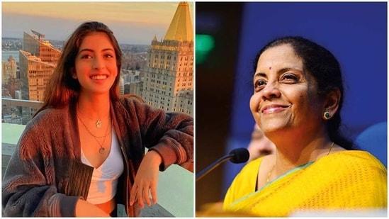 Navya Naveli Nanda has praised Nirmala Sitharaman.