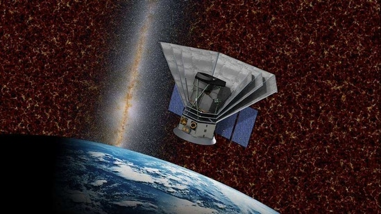 SPHEREx is a planned two-year astrophysics mission that aims to survey the sky in the near-infrared light to study the birth of the universe.(NASA)
