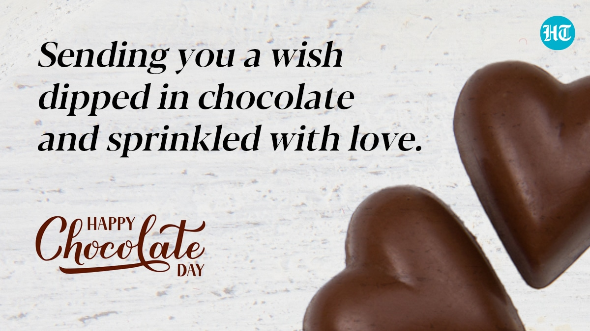 Chocolate Day 2021 Wishes Quotes To Express Your Love This Valentine S Week Hindustan Times Kya aap chocolate day shayari find kar rahe hai to aap is post me best 50 chocolate day shayari 2021, whatsapp status for girlfriend & boyfriend payenge. chocolate day 2021 wishes quotes to