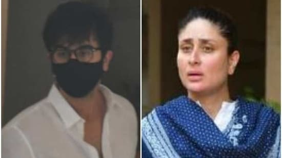 Ranbir Kapoor and Kareena Kapoor Khan congregated with the rest of the family after the death of Rajiv Kapoor.