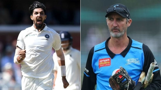 Ishant Sharma trained under Jason Gillespie ahead of 2018 cricket season. (Getty Images)