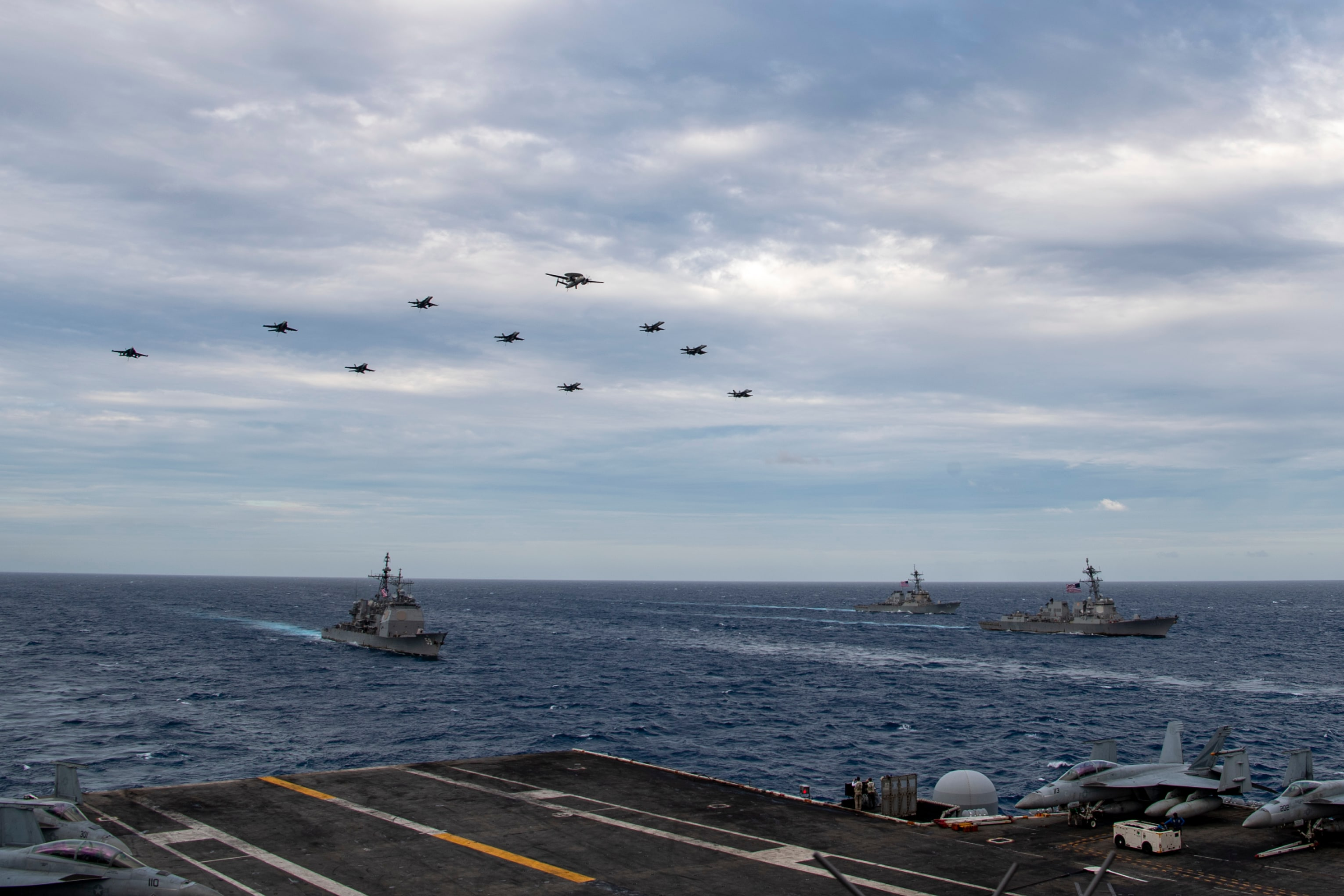 The news of the exercises by the supercarriers in China's neighbourhood came a day after US President Joe Biden, in his conversation with Prime Minister Narendra Modi, made a pointed reference to the Quadrilateral Security Dialogue, the strategic dialogue between India, USA, Japan and Australia that mostly focuses on Beijing.