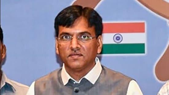 Union minister Mansukh Mandaviya. (File photo)