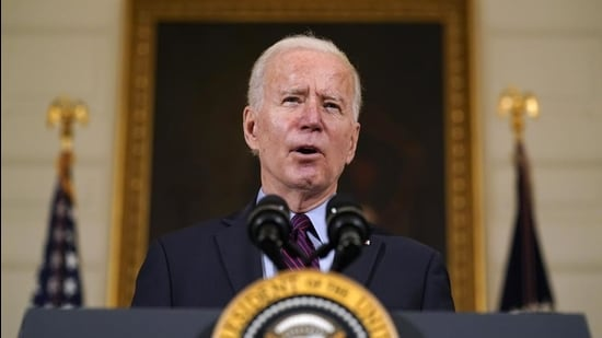 US President Joe Biden's first foreign policy speech was certainly in tune with the changing domestic political dynamic in the country. But its lack of a strategic vision will be concerning to America's partners (AP)