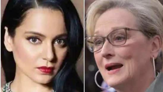 Kangana Ranaut compared herself to Meryl Streep, Gal Gadot and Tom Cruise.