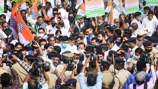 Image result for Congress calls for seven-hour Odisha bandh on February 15 over rising fuel price