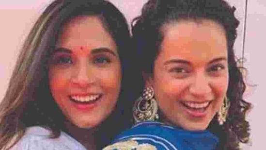 Richa Chadha and Kangana Ranaut worked together in Panga.