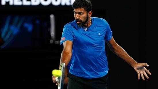 Rohan Bopanna did not get enough competition time to be ready for the season's first major. (Getty Images)