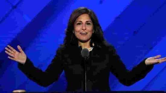 Neera Tanden told lawmakers that she spent every day grateful for a nation and a government that had faith in her mother and in her.(Reuters File Photo)