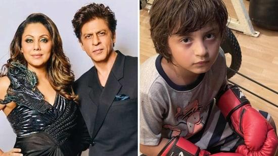 Gauri Khan shared a cute picture of AbRam.