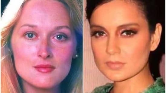 Kangana Ranaut had compared herself to Meryl Streep recently.