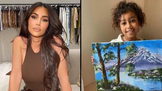 Kim Kardashian stood up for her little girl.