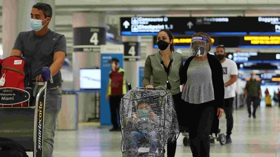 Nearly nine million Indian nationals live and work in West Asia, a majority of them in Saudi Arabia and the UAE. Hundreds of thousands of them returned to India during the pandemic. (AFP PHOTO).